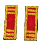 Union Artillery Captain Shoulder Insignia Set